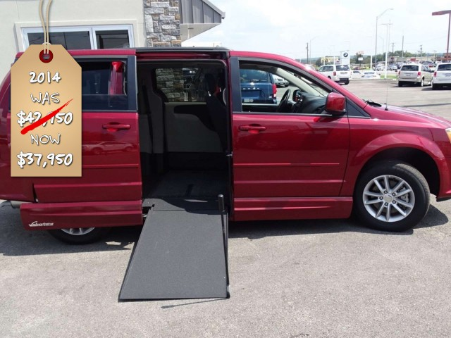 2014 Dodge Grand Caravan VMI Dodge Northstar Ewheelchair van for sale
