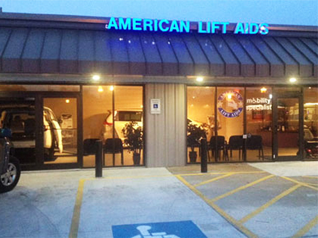 American Lift Aids's Facility in Beaumont, TX